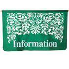 Image of Jewel Tone Leaf Design Banner