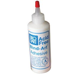 Brodart Acid-Free 4-Oz. Bind-Art® Flexible Adhesive