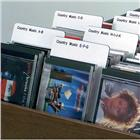 Image of Brodart Sign Shop Music Genre Classification Dividers
