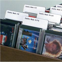 Brodart Sign Shop Music Genre Classification Dividers