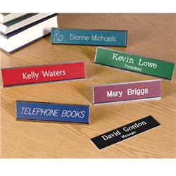 Brodart Sign Shop Engraved Name Plates