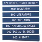 Image of Brodart Sign Shop Dewey Decimal Shelf Label Sets