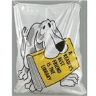 Image of Brodart Dog with Book Plastic Book Bag