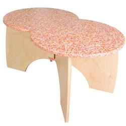 Greenplay® Group Loop collection™ Wood Composite Butterfly Activity Tables