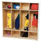 Image of Wood Designs™ Four-Section Locker