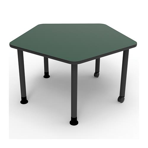 Brodart Pentagon Resource Mobile Tables