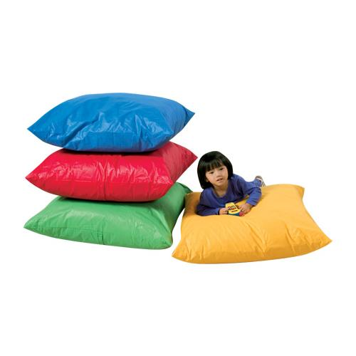 The Children's Factory Set of Four Floor Pillows