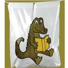 Image of Brodart Alligator Plastic Book Bag