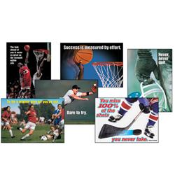Trend Enterprises Sports Motivational Poster Pack