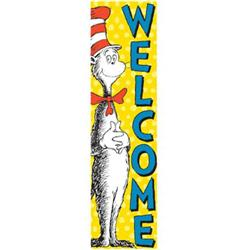 Eureka® The Cat in the Hat™ Welcome Vertical Banner