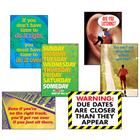 Image of Trend Enterprises School Work Poster Pack