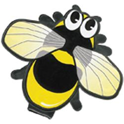 Clip-Over-Page Bee Bookmarks