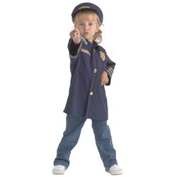 Brand New World Community Helpers Police Officer Costume