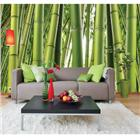 Image of Environmental Graphics Bamboo Wall Mural