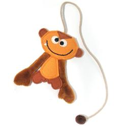 Monkey Silly String Bookmark