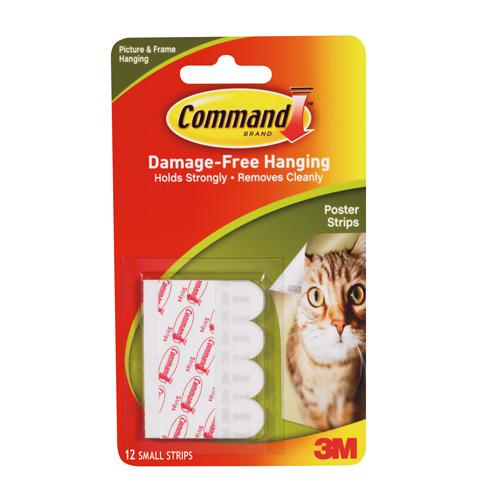 Command™ Removable Poster Strips