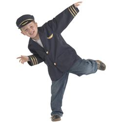 Brand New World Community Helpers Airline Pilot Costume