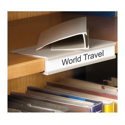 shelf label holders. Black Bedroom Furniture Sets. Home Design Ideas