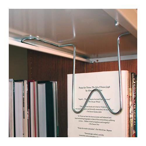 "Brodart Heavy-Duty 6"" Long Overhead Wire Book Supports"