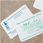 Image of Brodart One-Sided Plastic ID Cards