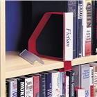 Image of Gressco Flat Label Holder for Clip-On Bookend