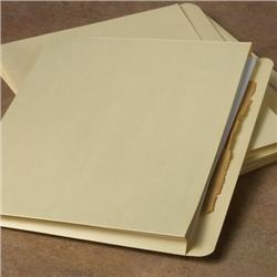 Letter-Size Pleated File Jackets