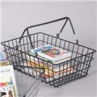Image of Black Wire Tote Basket