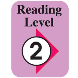 Brodart Level 2 Reading Labels