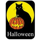 Image of Brodart Halloween Classification Labels (500 w/Black BG)
