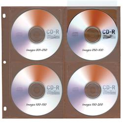 Copper Guard™ Eight-Disc Storage Pages
