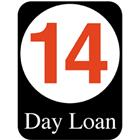 Image of Brodart 14 Day Loan Classification Labels (500 w/ Black BG)