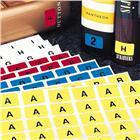 "Image of Brodart ""Horizontal"" Individual Letter Sheets -- Z"