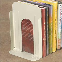 Brodart Large Non-Losable Metal Book Supports with Plain Base