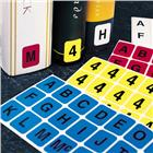 Image of Brodart Vertical Individual Letter Sheets -- A