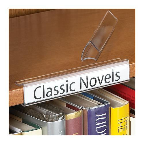 aigner label holder clear clip on label holder inserts. Black Bedroom Furniture Sets. Home Design Ideas