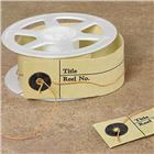 Image of Microfilm Reel Loop and Button ID Tags