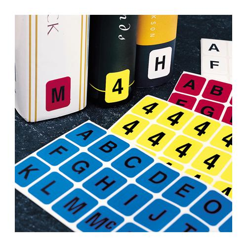 Brodart Vertical Individual Letter Sheets -- E