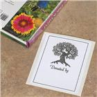 "Image of Brodart Acid-Free Bookplates with Tree Design and ""Donated"" Text"
