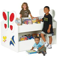 Brodart Children's Mobile Book Displayers with Shaped End Panels