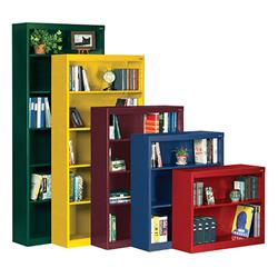 Sandusky Lee® Square Edge Stationary Bookcases