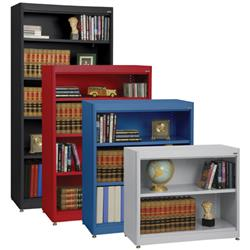Sandusky Lee® Radius Edge Stationary Bookcases