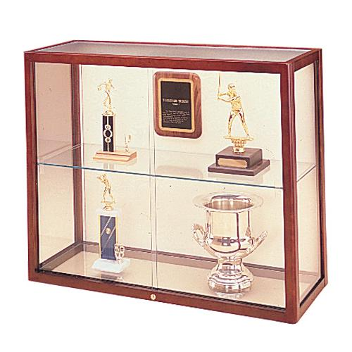 Waddell Heritage Wood Tabletop Display Case
