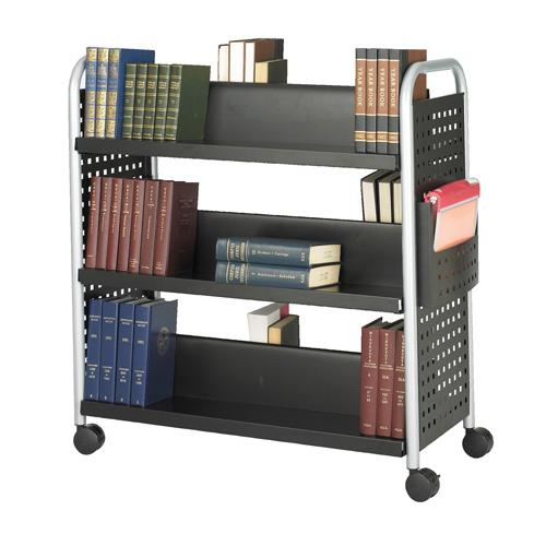 Safco Products Double-Sided Scoot™ Book Cart
