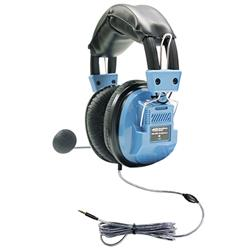 HamiltonBuhl Deluxe Headset with Goose Neck Mic and TRRS Plug