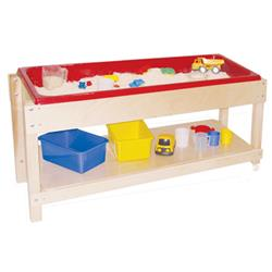 Wood Designs™ Sand and Water Table with Lid/Shelf