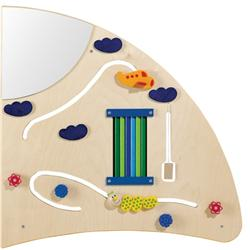 HABA Learning Wall - Quarter Circle Right