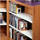 Image of Brodart Design-Flex Three-Wing Shelving with Steel Flat Shelves