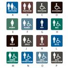 Image of Intersign Standard Restroom/Locker Room Signs