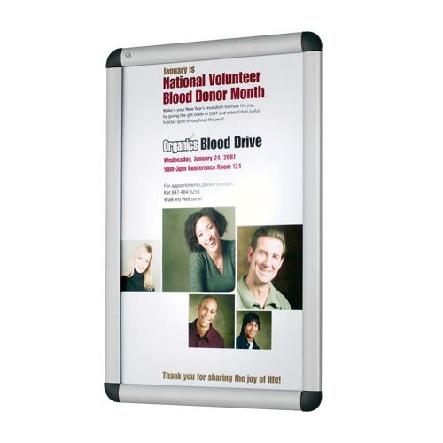 "Quartet® Improv™ 11"" x 17"" Clip Frame Sign"