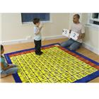 Image of Kalokids™ 100-Square Multiplication Grid Carpet
